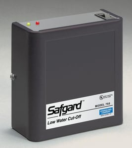 Hydrolevel Safgard™ Low Water Combination with Manual Reset H45550