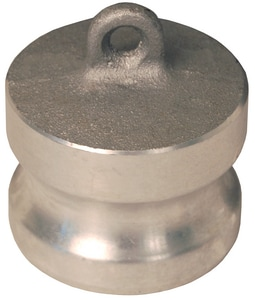 Dixon Valve & Coupling Press Aluminum Dust Malleable Plug DDPAL
