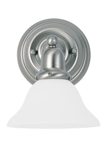 Seagull Lighting Sussex 100 W 1-Light Medium Sconce S44060
