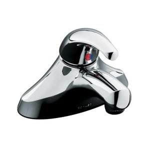 Kohler Coralais® Single-Handle Lever Lavatory Faucet ADA Vandal Resistant 0.5 gpm K15597-F