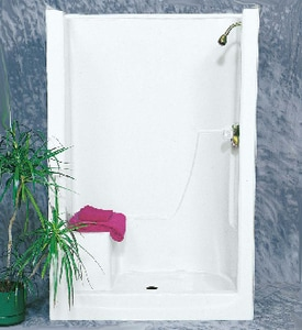 Bathcraft 36 x 48 in. Shower with Right Hand Seat B4801R