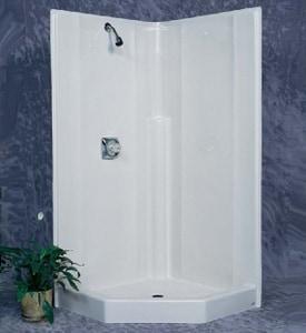 Bathcraft Valdosta 38 x 38 in. Shower in White B3808WH