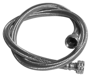 LSP Products Group 3/4 x 3/4 in. Stainless Steel Washing Machine Hose LWAS3PP