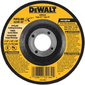 Dewalt Cut/Grind Wheel DDW8434
