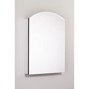 Robern PL Series 34 x 23-1/4 x 4-5/8 in. Single Door Mirror Medicine Cabinet RPLM2434BA