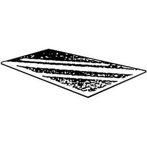 Ryerson Tull 24 x 96 in. 28 ga Flat Sheet Metal FSM282496