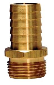 Dixon Valve & Coupling Brass Short Shank Fitting Male Garden Hose Thread DBCM7