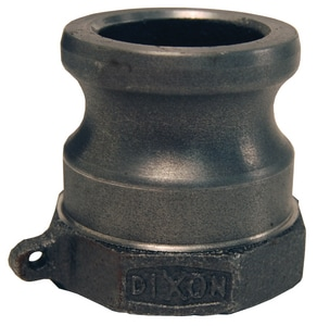 Dixon Valve & Coupling Male x FNPT Malleable Iron Type A Adapter D200AMI