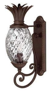 Hinkley Lighting 22 in. 75 W 1-Light Medium Lantern in Copper Bronze H2220CB