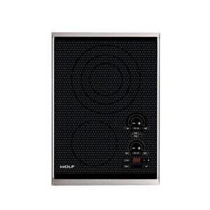 Wolf Range 15 in. Trim Electric Cooktop WCT15ES