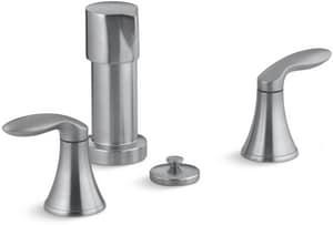 Kohler Coralais® 3-Hole Bidet Faucet with Double Lever Handle K15286-4