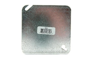Diversitech 4 in. Stainless Steel Flat Blank Cover DIV620406