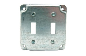 Diversitech 2 Gang Flat Toggle Switch Cover DIV620410