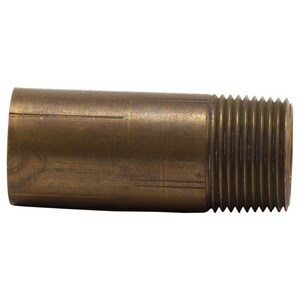 Merit Brass 2 in. Threaded Global Brass Nipple GBRNTK