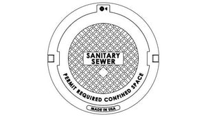 EJ USA 24 in. Manhole Cover Only E134839