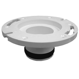 Jones Stephens 3 x 3 in. PVC 2-Finger Repair Flange JC4733P