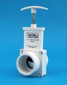 Valterra Products PVC Slip Sliding Gate Valve VAL6201