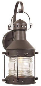 Craftmade International Nautical 100 W 1-Light Medium Exterior Wall Mount CZ1147