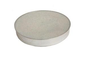 Gray Metal South 3 in. 26 ga Round Cap No Crimp G3310