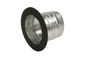 Gray Metal South 26 ga Adhesive Fitting G400A
