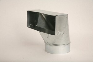 Gray Metal South 30 ga 90° Standard Register Boot G10X4X113R