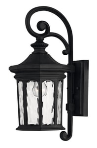 Hinkley Lighting 16-1/2 in. 60 W 1-Light Medium Lantern in Museum Black H1600MB