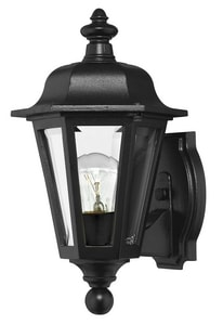 Hinkley Lighting 12 in. 60W Medium Lantern in Black H1819BK