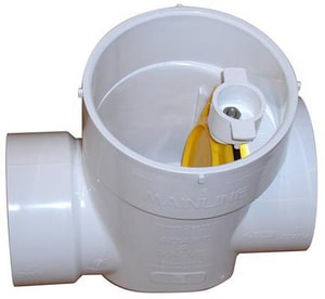 Mainline Backflow Products PVC Backwater Valve MMLXP