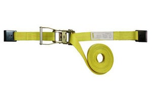 M.W. Supply 2 in. Ratchet Strap Logo with Hook in Blue M582227F