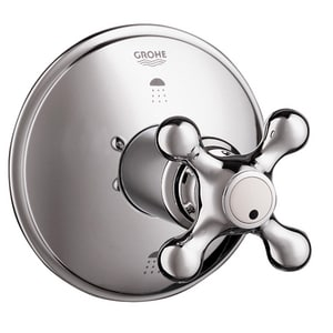 Grohe Seabury™ 3-Way Diverter Trim with Single Cross Handle G19222