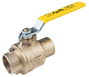 Apollo Conbraco 77C-A Series Bronze Full Port Solder 600# Ball Valve A77C2401