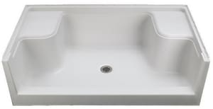 Sterling Advantage™ 60 x 60 in. Shower Base with Seat S62041100