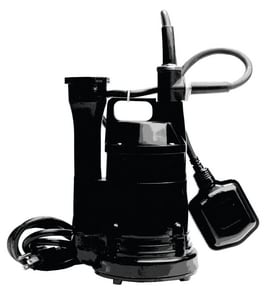Little Giant Pump 1/4 HP 115V Auto Submersible Sump Pump L505700