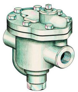 Spirax Sarco 3/4 in. Cast Iron Inverted Bucket Steam Trap S641