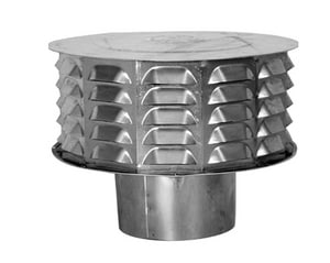 American Metal Products Type B Gas Vent Universal Highwind Cap A4CW