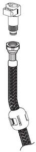 Moen Spout Hose Kit M109248