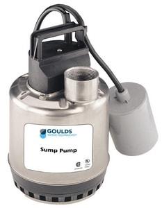 Goulds Pumps 115 V 3/4 hp Single Phase Effluent Pump GLSP0711F