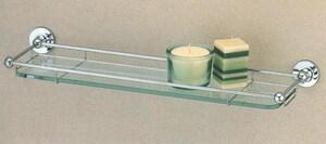 Gatco Premier 6 x 19-3/4 in. Glass Vanity Shelf G1465