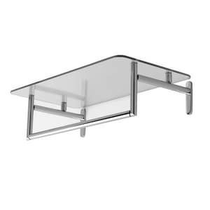 Ginger USA Sine® 24 in. Hotel Shelf with Towel Bar G024324