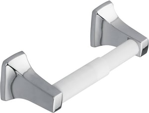 Moen Toilet Paper Holder with Plastic Roll Polished Chrome CSI2080CH