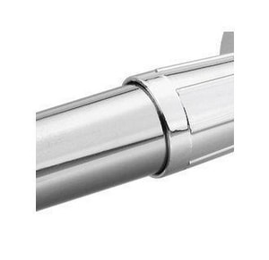 Creative Specialties International Donner Shower Rod in Polished Chrome CSI21006A