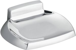 Creative Specialties International Contemporary Soap Dish Polished Chrome CSIP5360