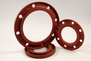 Ferguson Industrial Plastics 200 psi Ductile Iron Back-Up Ring IBUPSDR11B