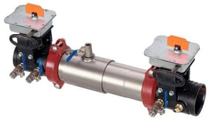 Watts Series 757 Stainless Steel Flanged x Grooved 175 psi Backflow Preventer W757BFG