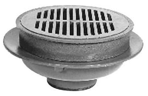 Zurn 3 x 6-4/5 in. Neo-Lock Cast Iron Floor Drain ZZ5053NL