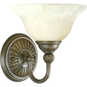 Progress Lighting Savannah 100W 1-Light Wall Sconce in Burnished Chestnut PP320486