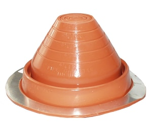 ITW Buildex 10 in. - 18 in. Silicone Pipe Flashing #9 B4039910