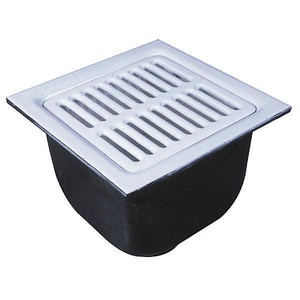 Watts Drainage Products No-Hub Cast Iron Floor Sink Body WFS74222