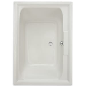 American Standard Town Square® Rectangular Bathtub with Left Drain A2748002