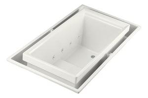 Kohler Sok® 75 x 41 in. Right-Hand Fiberglass Reinforced Plastic Whirlpool Sok in White K1188-RE-0